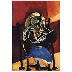 "Picasso ""Seated Woman Reading"""