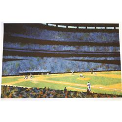 "Koslow ""America's Pastime"" Lithograph"