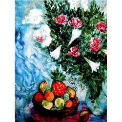 "Marc Chagall ""Fruit & Roses"""