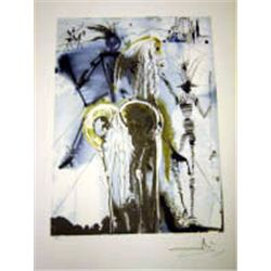 "Dali ""Don Quixote"" Lithograph - Limited Edition"