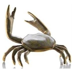 Dungeness Crab Bronze Sculpture