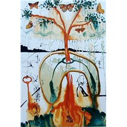 Dali  A Mad Tea Party  Lithograph