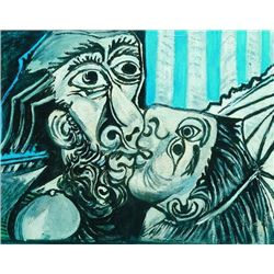 "Picasso ""The Kiss"""