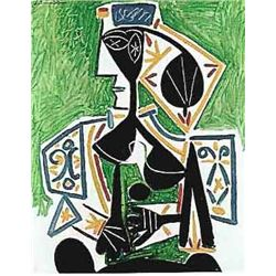 "Picasso ""Woman In Green"""