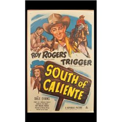 Roy Rogers South of Caliente Movie Poster