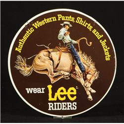 Lee Rider Jeans Double Sided Sign