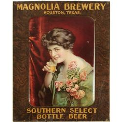 Magnolia Brewery Southern Select Tin Sign Rare