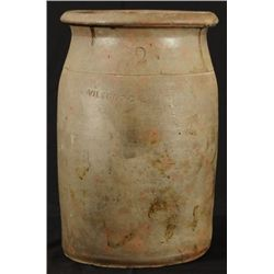 Signed Wilson Two Gallon Stoneware Churn