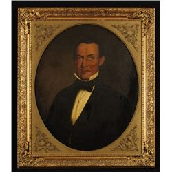Portrait of Francis Brichta Texas Land Commisioner