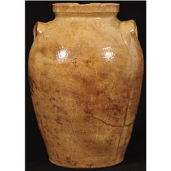 James Prothro Texas Stoneware Ovoid Jar
