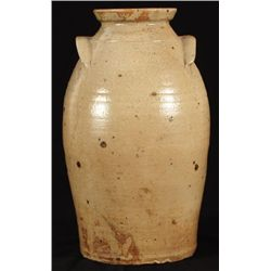 JS Hogue Texas Stoneware Ovoid Jar