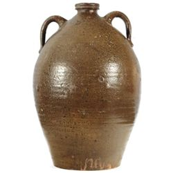 J.S. Nash 6 Gallon Texas Stoneware Jug