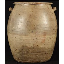 Large Stoneware Storage Jar Circa 1850 Arp Texas
