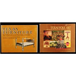 Texas Furniture & Texas Folk Art Books