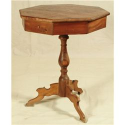 Early Texas Longleaf Pine Side Table