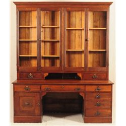 Walnut Desk From Schreiner's Store Kerrville Texas