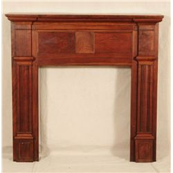 Texas Walnut Fireplace Mantle