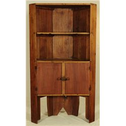Corner Cupboard Hutch