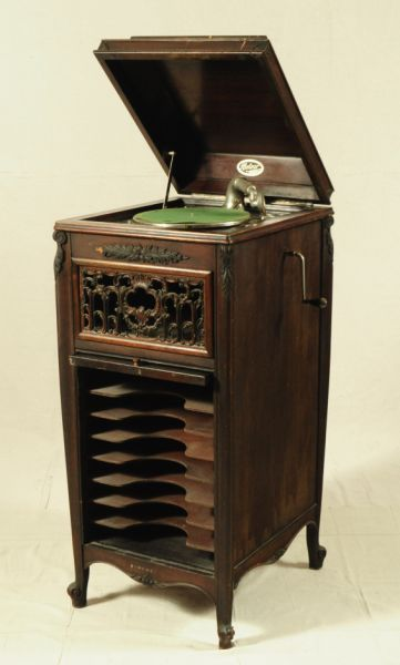Meteor Cabinet Record Player Loading Zoom