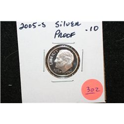2005-S Roosevelt Dime, Silver Proof