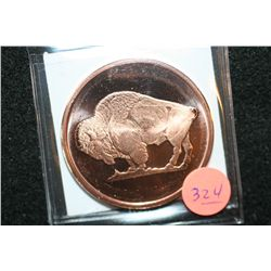 2011 Buffalo Copper Round, .999 Fine 1 Oz.