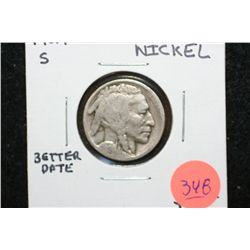 1924-S Buffalo Nickel, Better Date