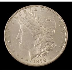 UNC 1879 Morgan Silver Dollar