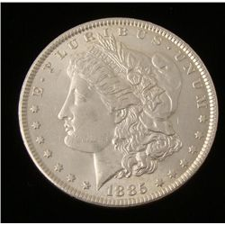 1885 Morgan Silver Dollar UNC