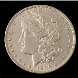 Very Hi-Grade 1896 Silver Morgan Dollar