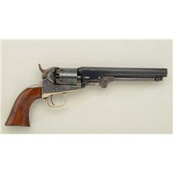 "Colt 1849 Pocket Model , .31 cal. percussion,  6"" barrel, old re-blued and case hardened  finish, va"