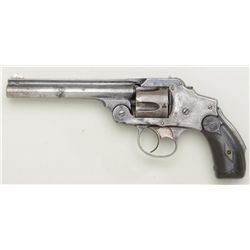"Antique Smith & Wesson .38 Safety Second  Model DA top break revolver, .38 cal., scarce  5"" barrel,"