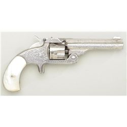 "Smith & Wesson .32 Single Action spur trigger  top break revolver, .32 cal., 3-1/2"" barrel,  Nimschk"