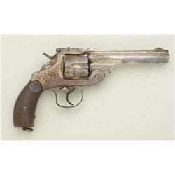 Well-made antique period copy of a Smith &  Wesson First Model top break 44 DA revolver,  .44 cal.,