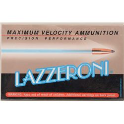 Lot of two boxes of precision performance  Lazzeroni 7.82 (.308) Warbird caliber  cartridges (20/box