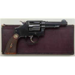 "Smith & Wesson military and police .38  special cal., double action revolver, 4""  barrel, blue finis"