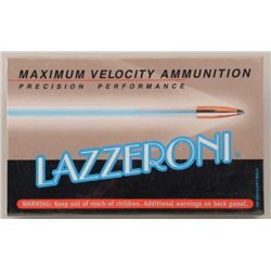 Lot of three boxes of precision performance  Lazzeroni 6.53 (.257) Scramjet cartridges  (20/box); 3,