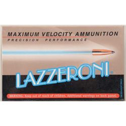 Lot of three boxes (20 cartridges/box) of  precision performance Lazzeroni ammo in 7.82  (.308) Warb