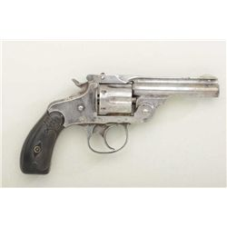Scarce Marlin Model 1887 DA .32 cal.  revolver, traces of original nickel, hard  rubber grips, seria