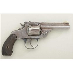 Scarce Marlin Model 1887 .32 cal. DA  revolver, traces of original blue finish,  hard rubber grips,
