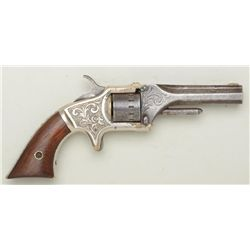 American Standard Tool Co.,  .22 cal. 7-shot  revolver with 12 notch cylinder, period  engraved, #16