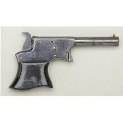 "Remington Vest Pocket single shot derringer,  .22 cal., 3-1/4"" barrel, blue finish, wood  grips, #15"