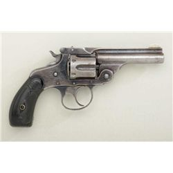 Scarce Marlin Model 1887 .32 cal. DA  revolver, blue finish, hard rubber grips,  serial #3239.  Revo