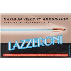 Lot of two boxes of precision performance  Lazzeroni cartridges in 7.82 (.308) caliber  (20/box); 4,