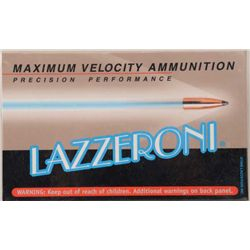 Lot of three boxes of precision performance  Lazzeroni cartridges in 6.53 (.257) Scramjet  caliber w