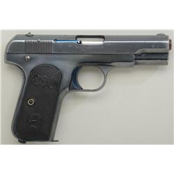 Colt Model 1903 pocket .32 ACP cal.  semi-automatic pistol, high polish, early  blue finish with har
