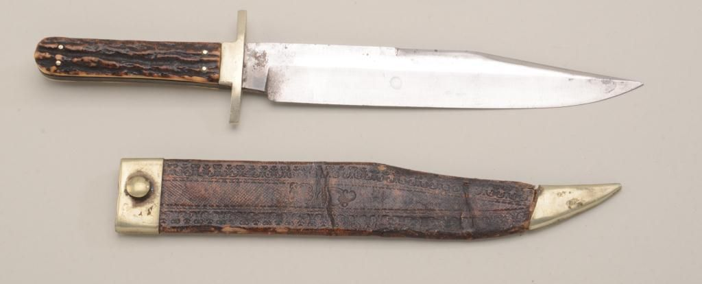 Clip Point Bowie Knife By George Wostenholm And Son Washington Works