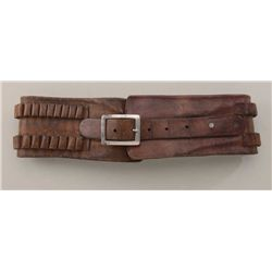 wide cartridge belt money belt circa about 1890
