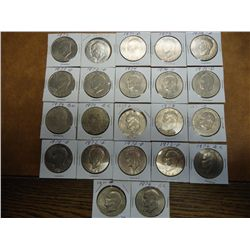 22 ASSORTED IKE DOLLARS