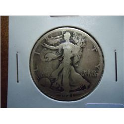 1921-S WALKING LIBERTY HALF DOLLAR (SEMI-KEY)