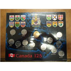 1992 CANADA 125TH ANNIVERSARY OF THE CONFEDERATION